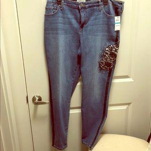 Women's Plus Size Style & Co Jeans - Size 16